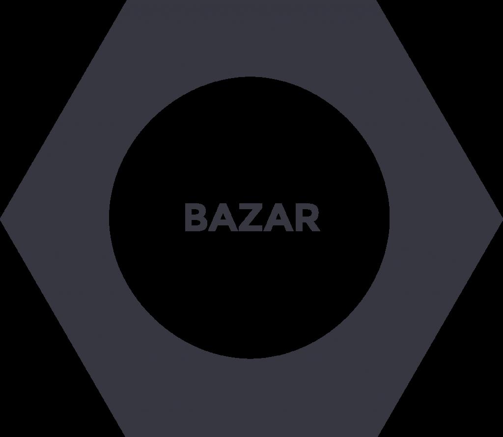 tlačítko odkazující na bazar