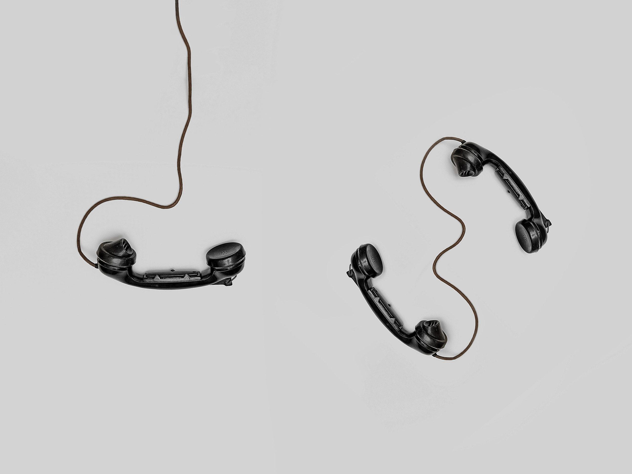 telefony - pozadí pro stránku kontakt